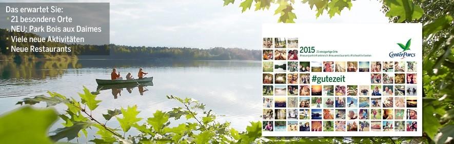 Center Parcs Katalog