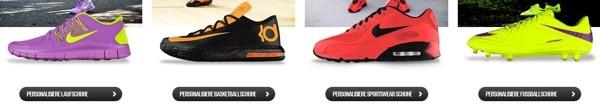 Nike personalisieren