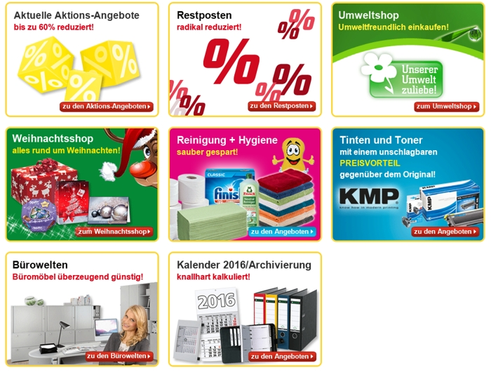 Office Discount Aktionen