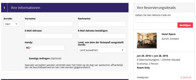 otel.com Aktionscode