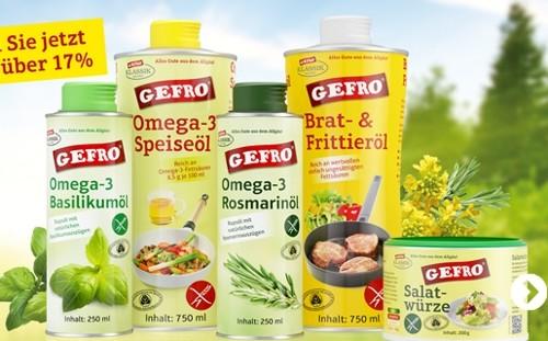 GEFRO Produkte