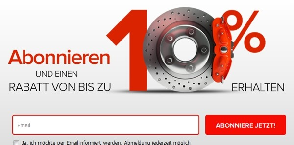 Autoteiledirekt Newsletter