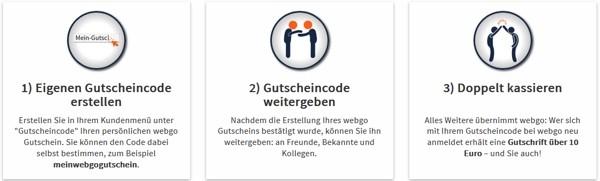 webgo Freundschaftswerbung