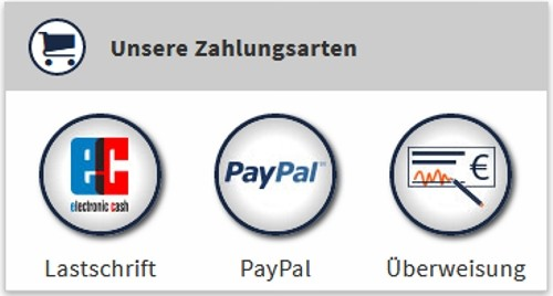 webgo Zahlungsarten