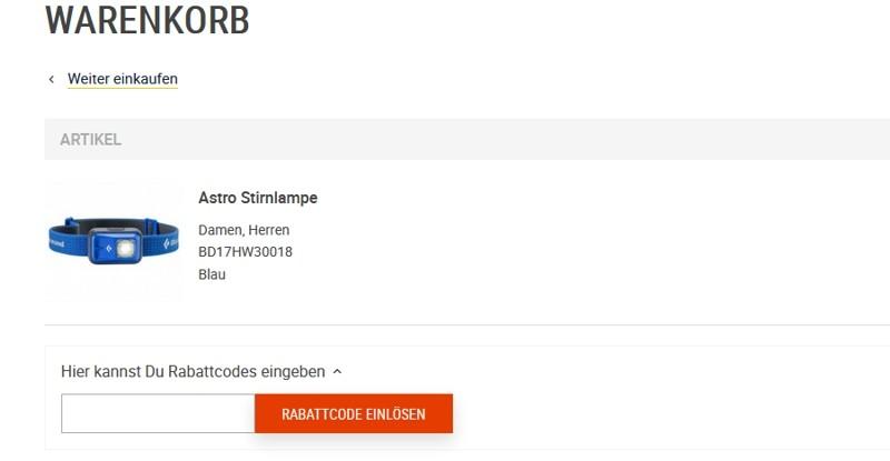 shop4runners Aktionscode einlösen