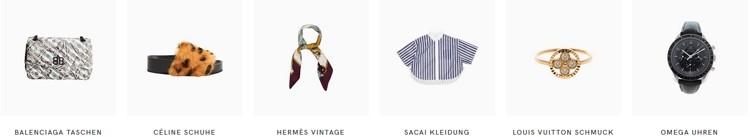 Vestiaire Collective Produkte