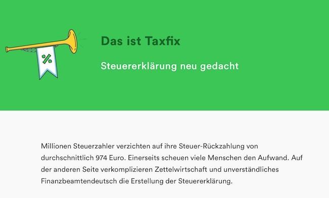 Taxfix FAQ