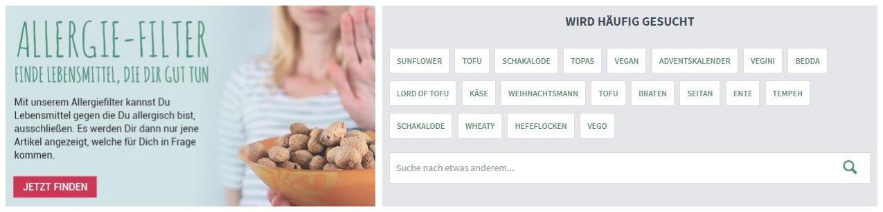 Alles-vegetarisch-alergiefilter